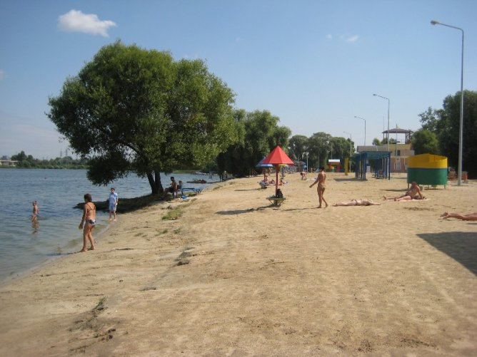 Белгород. Пляж