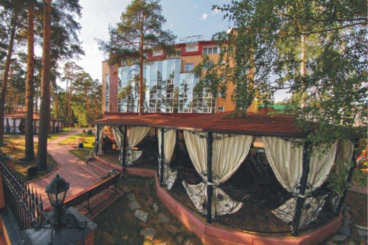 Park-Hotel - Территория